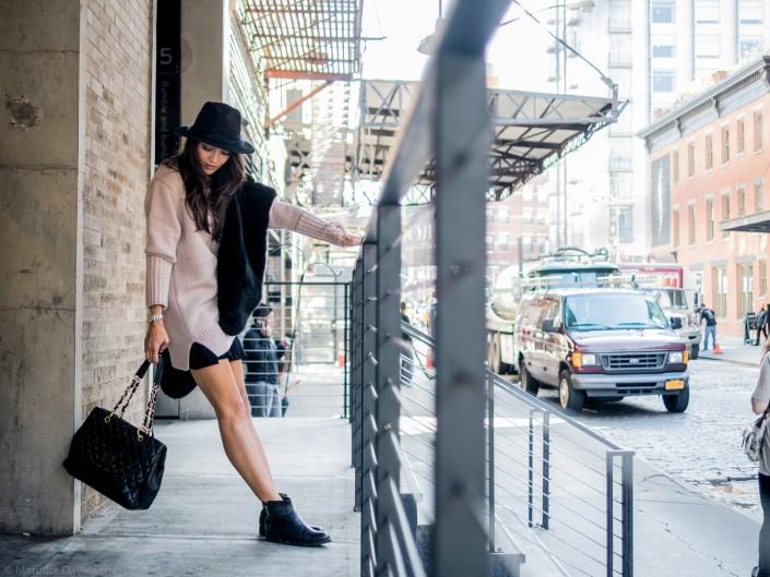 RUNNING AROUND MEATPACKING - NYC